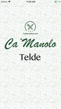Ca´Manolo Telde poster