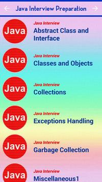 Java Interview Question QA poster