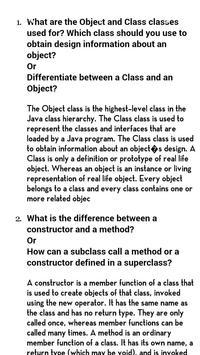 Java Interview Question QA screenshot 2