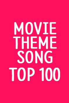 Top 100 Movie Theme Songs poster