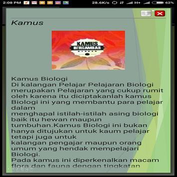 Kamus Biologi poster