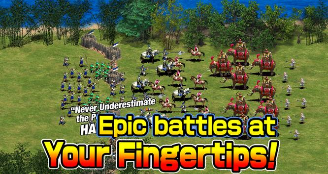 Empire defense : Clash of king poster