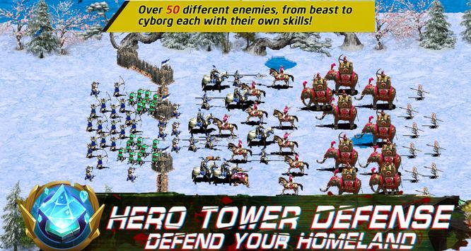 Empire defense : Clash of king apk screenshot
