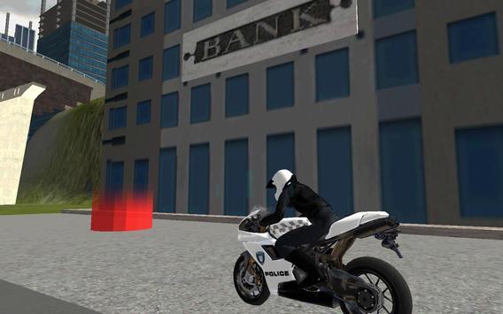 Police Moto Bike 3D screenshot 3