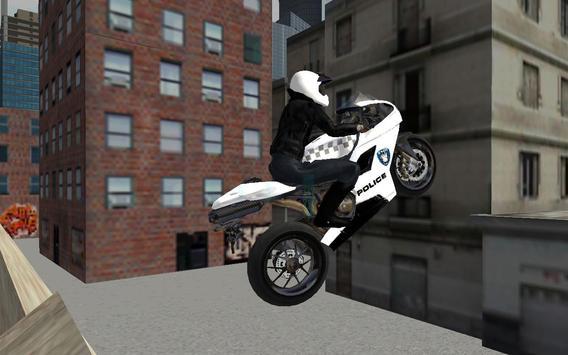 Police Moto Bike 3D poster