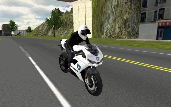 Police Moto Bike 3D screenshot 1