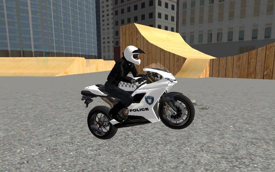 Police Moto Bike 3D screenshot 2