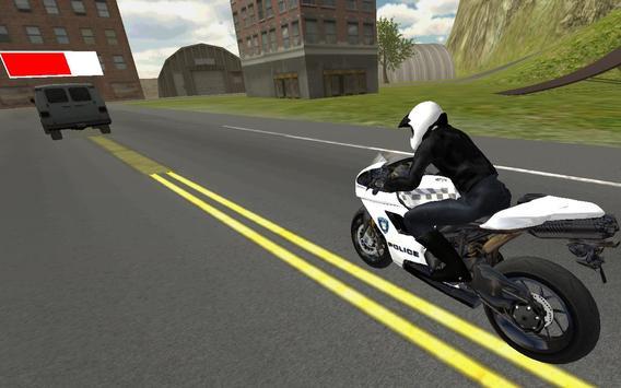Police Moto Bike 3D screenshot 5