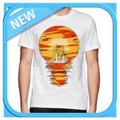 T Shirt Unique Design icon