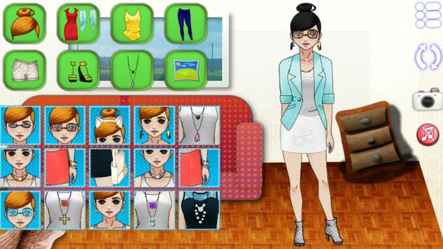 Dress up Life Role Style Girl screenshot 3