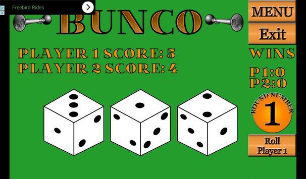 Bunco screenshot 1
