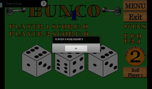 Bunco screenshot 2