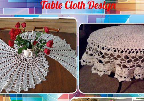 Table Cloth Design poster