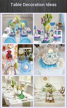 Table Decoration Ideas screenshot 1