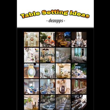 Table Setting Ideas apk screenshot