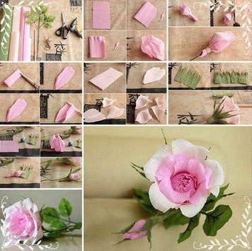 Diy paper flower craft ideas apk download free lifestyle app for diy paper flower craft ideas poster mightylinksfo