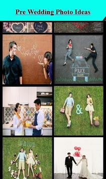 Pre Wedding Photo Ideas apk screenshot