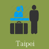 Taipei Hotels and Flight icon