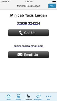 Minicab Taxis Lurgan apk screenshot