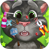 Talking Cat Skin Doctor Kids Game icon
