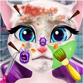 Talking Cat Skin Doctor Salon icon