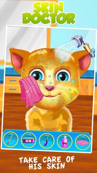 Talking Cat Skin Trouble apk screenshot
