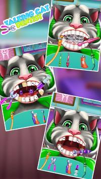 Talking Cat Dentist Salon apk screenshot