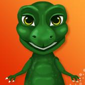 Talking Dinosaur T REX Dino icon