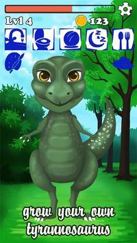 Talking Dinosaur T REX Dino poster