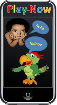 Talking Parrot Game poster