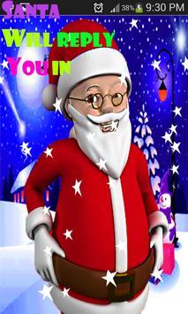 Talking santa clause apk screenshot