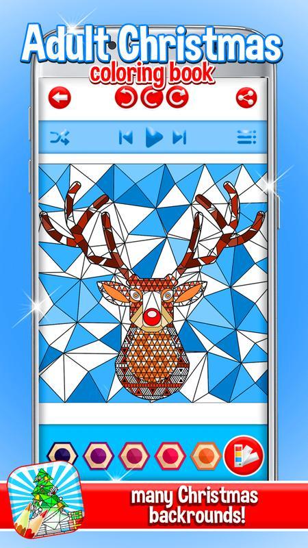 Navidad Libro de Colorear para Adultos for Android - APK Download