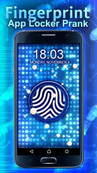 Fingerprint App Locker Prank apk screenshot