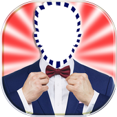 Men Suit and Tie Photo Maker icon