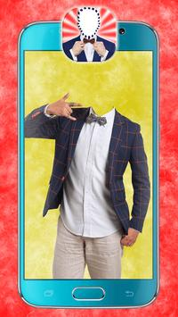 Men Suit and Tie Photo Maker poster