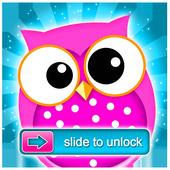 Owl Lock Screen Wallpaper icon