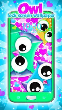 Owl Lock Screen Wallpaper apk screenshot