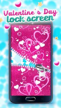 Valentine's Day Lock Screen apk screenshot