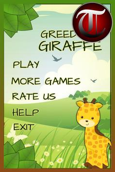 Hungry GIRAFFE crazy game(Kid) poster