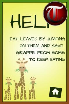 Hungry GIRAFFE crazy game(Kid) screenshot 1