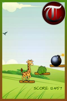Hungry GIRAFFE crazy game(Kid) screenshot 22