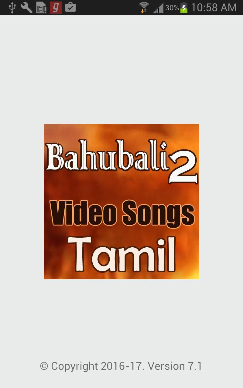 🏆 Bahubali 2 full video song download in tamil