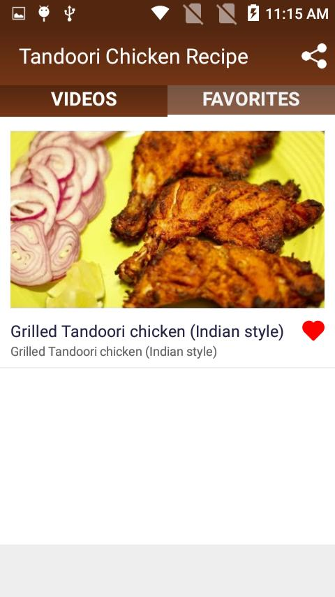 Tandoori Chicken Recipe For Android Apk Download