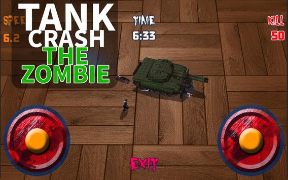 Tank Crush the Zombie poster