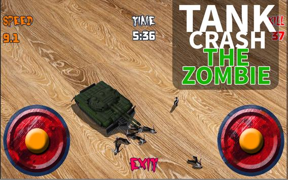 Tank Crush the Zombie screenshot 1