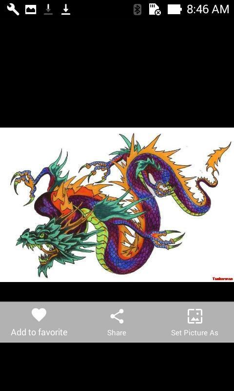 Chińskie Wzory Tatuażu Smoka For Android Apk Download