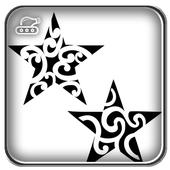 Star Design Tattoo icon