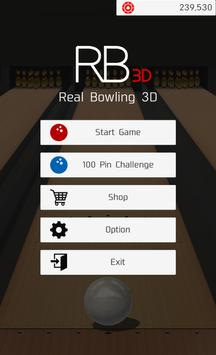 RealisticBowling3D -Free- poster