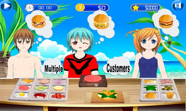 Fun Kitchen Chef– 2D Fast Food Burger Cooking Game screenshot 14