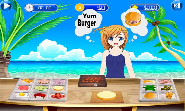 Fun Kitchen Chef– 2D Fast Food Burger Cooking Game screenshot 12